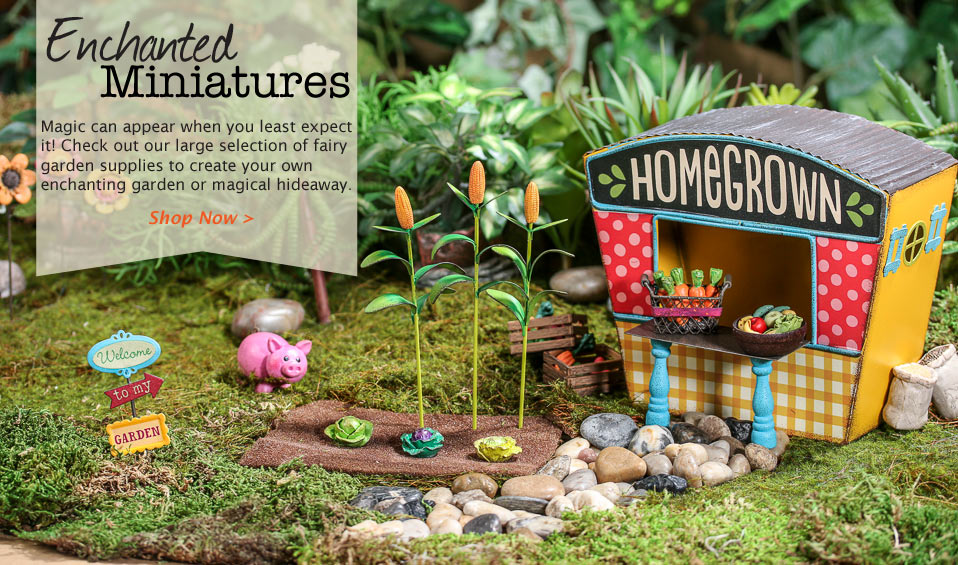 Shop Fairy Garden Supplies Now