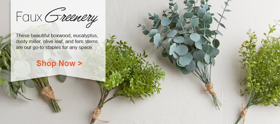Shop Our Artificial Greenery Now