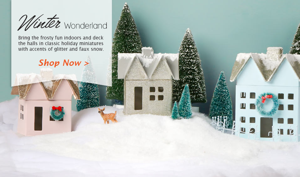 Shop Our Winter Wonderland Collection Now