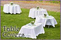 Table Covers - Table Skirts