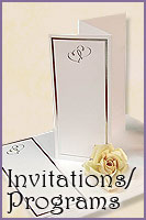 Wedding Invitations / Programs