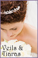 Wedding Tiaras and Veils