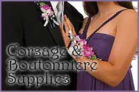Corsage and Boutonniere Supplies