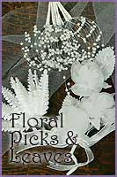 Floral Picks and Leaves