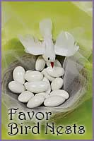 Favors - Bird Nests