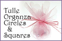 Tulle Organza Circles and Square
