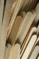 Popsicle Sticks and Fan Sticks