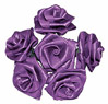 Purple Ribbon Roses