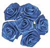 Royal Blue Ribbon Roses
