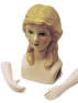 Sarah Porcelain Doll Head and Arms - True Vintage