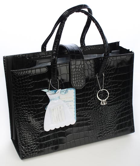 vl1259 bride s wedding planning tote bag this wedding planner tote ...