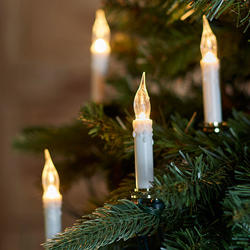 Old Fashioned Clipon Candle Christmas String Lights