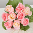 Blushing Pink Artificial Rose Bundle