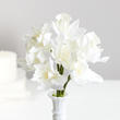 White Artificial Orchid Bundle