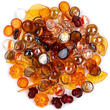 Assorted Autumn Glass and Acrylic Table Scatters