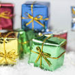 Miniature Assorted Foil Gift Boxes