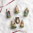 Miniature Nativity Ornaments