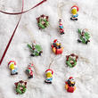 Miniature Looney Tune Christmas Ornaments - True Vintage