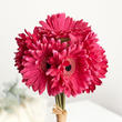 Magenta Artificial Gerbera Daisy Bouquet