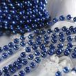 Blue Fused String Pearl Beads