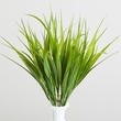 Bright Green Artificial Grass Pick