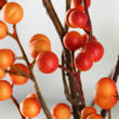 Orange Artificial Twig and Berry Pick