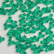 Green Translucent Tri Beads