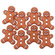 Iced Gingerbread Cookie Buttons