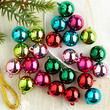 Miniature Christmas Ball Ornaments