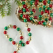 Mini Beaded Christmas Tree Garland