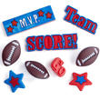 Miniature Football Team Buttons
