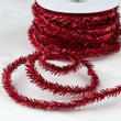 Dark Red Rope Tinsel Garland
