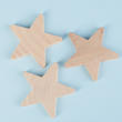 Unfinished Wood Star Cutouts