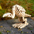 Miniature Halloween Buzzard Skeleton Figurine