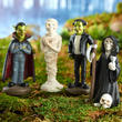 Miniature Halloween Characters Set