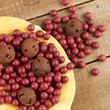Rusty Jingle Bells and Artificial Cranberries