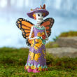 Miniature Day of the Dead Butterfly Skeleton Fairy