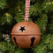 Rusty Sleigh Bell Ornament