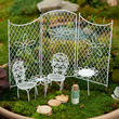 Fairy Garden Al Fresco Miniature Furniture Set