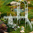 Miniature Fairy Garden Backyard Oasis Furniture Set