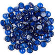 Royal Blue Flat Glass Gems