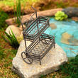 Miniature Fairy Garden Flower Cart