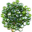 Green Flat Glass Gems