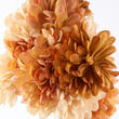 Brown and Beige Artificial Mum Bush