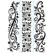 Flourish Borders Embossing Folder Set