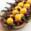 Faux Lemon and Cherry Holiday Fruit DIY Kit