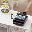 Dollhouse Miniature Modern Cash Register with Hand Scanner