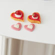Dollhouse Miniature Assorted Heart Cookies