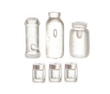 Dollhouse Miniature Assorted Jars