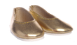Doll Gold Ballet Slippers